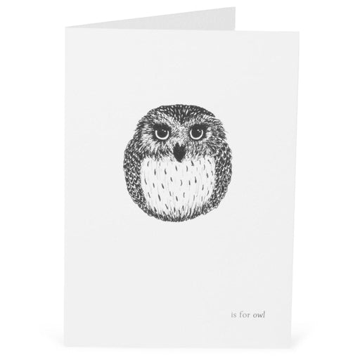 O is for Owl Card-Lucy Coggle
