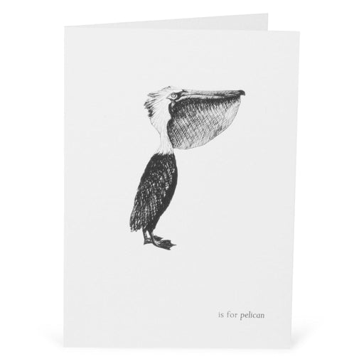 P is for Pelican Card-Lucy Coggle