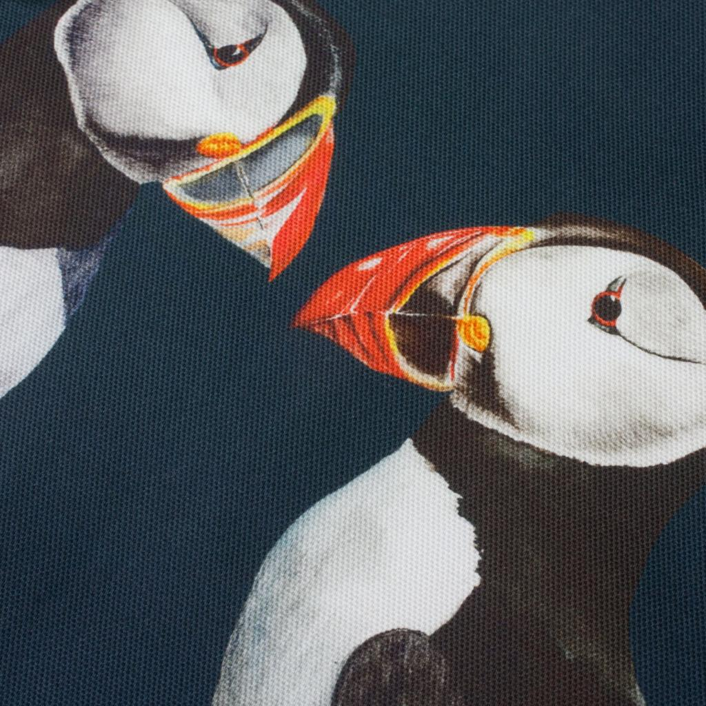 Pair of Puffins Tea Towel-Lucy Coggle