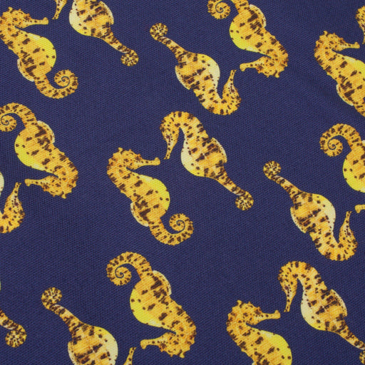 Pair of Seahorses Tea Towel-Lucy Coggle