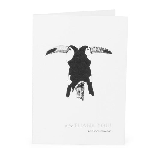 T is for Thank You Card-Lucy Coggle