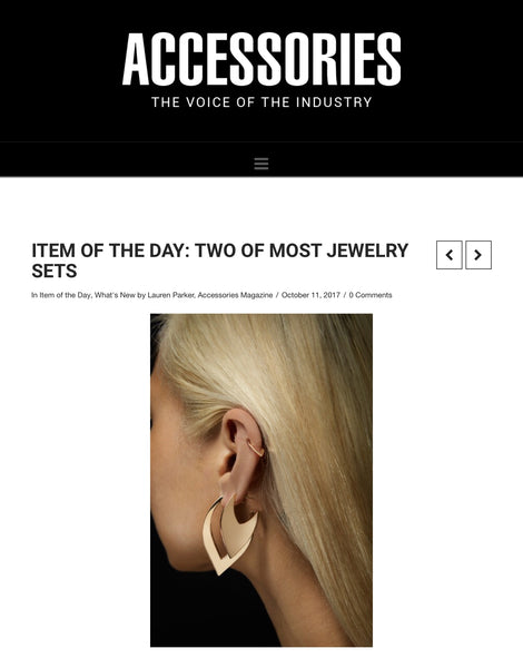 Accessories Magazine - Item of the Day - Two of Most Fine Jewelry