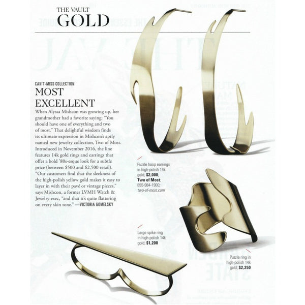 JCK Magazine - Two of Most Fine Jewelry