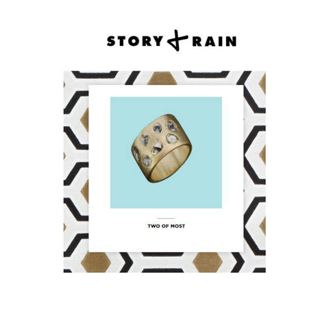 STORY + RAIN - Alternative Engagement Rings - Two of Most Fine Jewelry