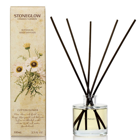 Stoneglow Cotton Flower Reed Diffuser