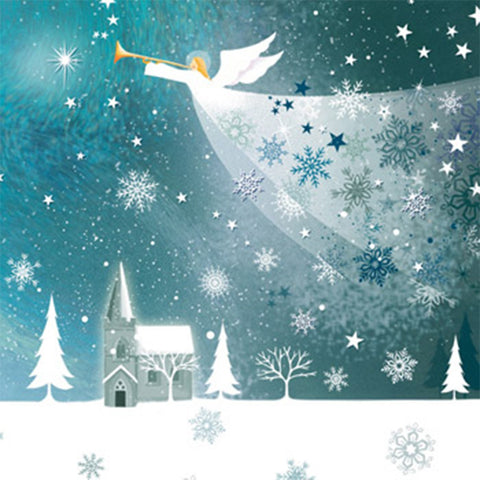 'Snow Angel' Christmas Card