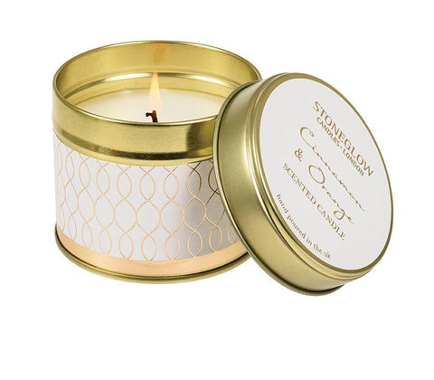 Cinnamon & Orange Candle Tin