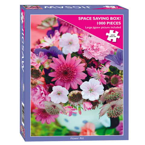 Spring Flower Pot Jigsaw