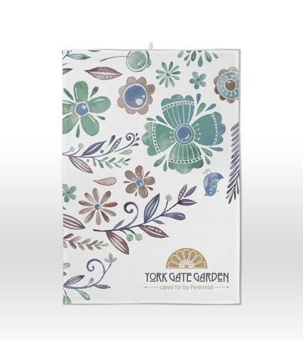 York Gate Branded Product Tea Towel
