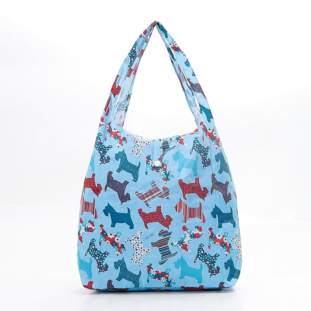Eco Chic Scotty Dog Foldable Shopper