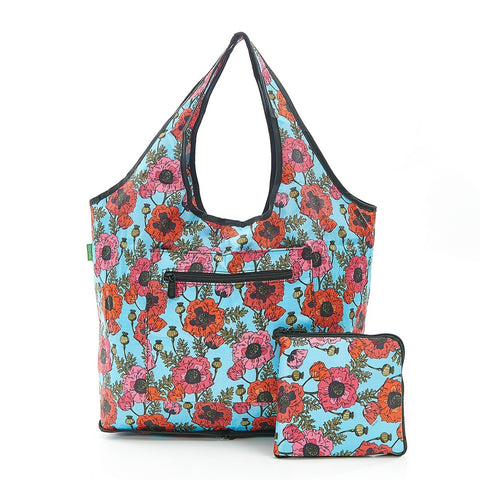 Poppies Foldable Weekend Bag