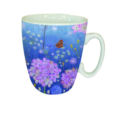 Country Lanes Mug 'Butterflies in the Midst'