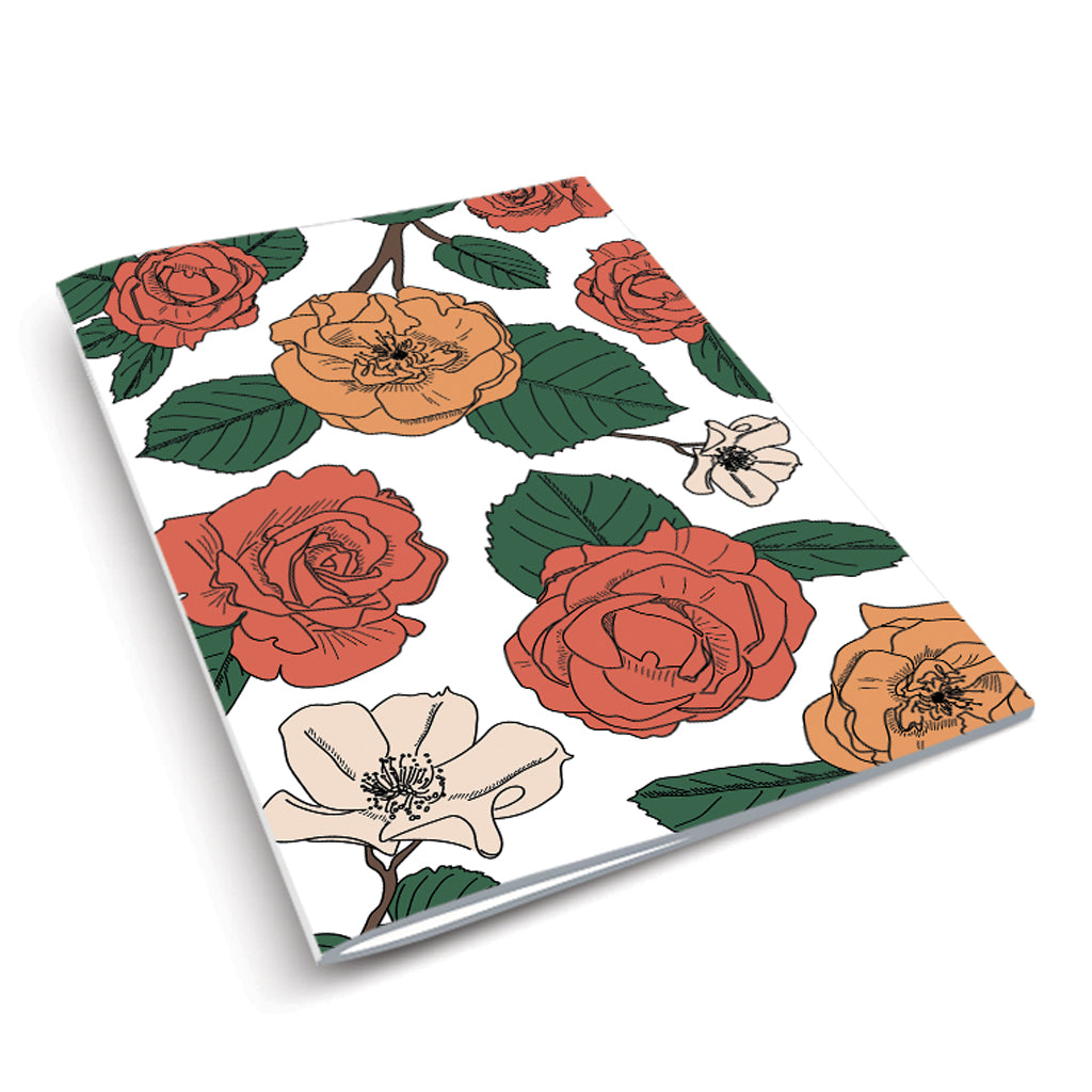 Perennial  - Rose Notebook