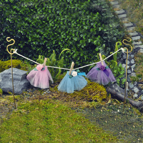Fiddlehead Fairy Clothes Line