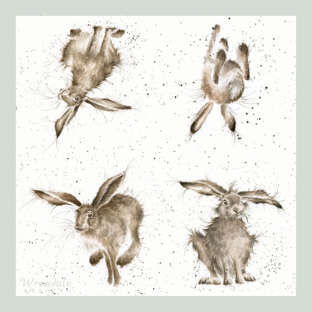 Wrendale Napkin Hare-Brained