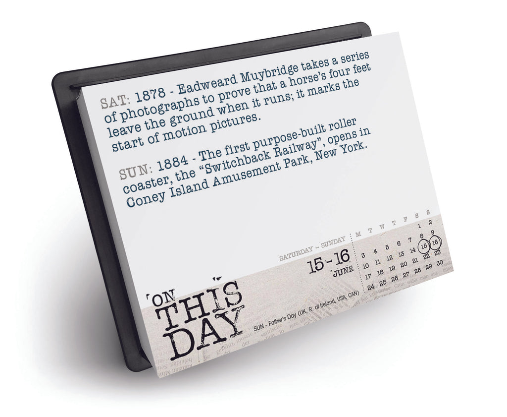 On This Day Box Calendar