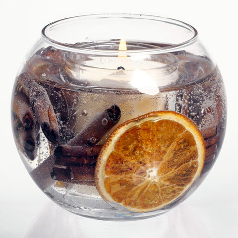 'Cinnamon and Orange' Stoneglow Candle