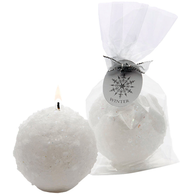 Stoneglow Snowball Candle