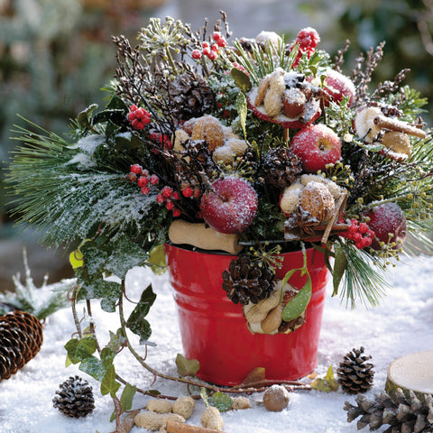 'Christmas Bouquets' Christmas Card