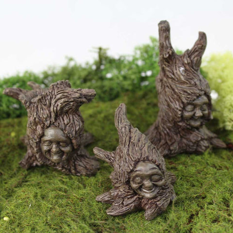 Fiddlehead Fairy Tree Sprites, Set of 3