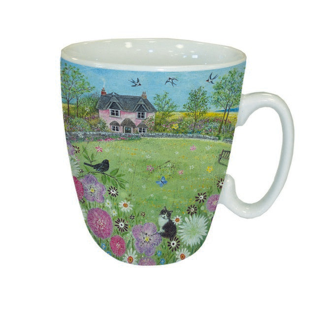Country Lanes Mug 'Country Cottage'