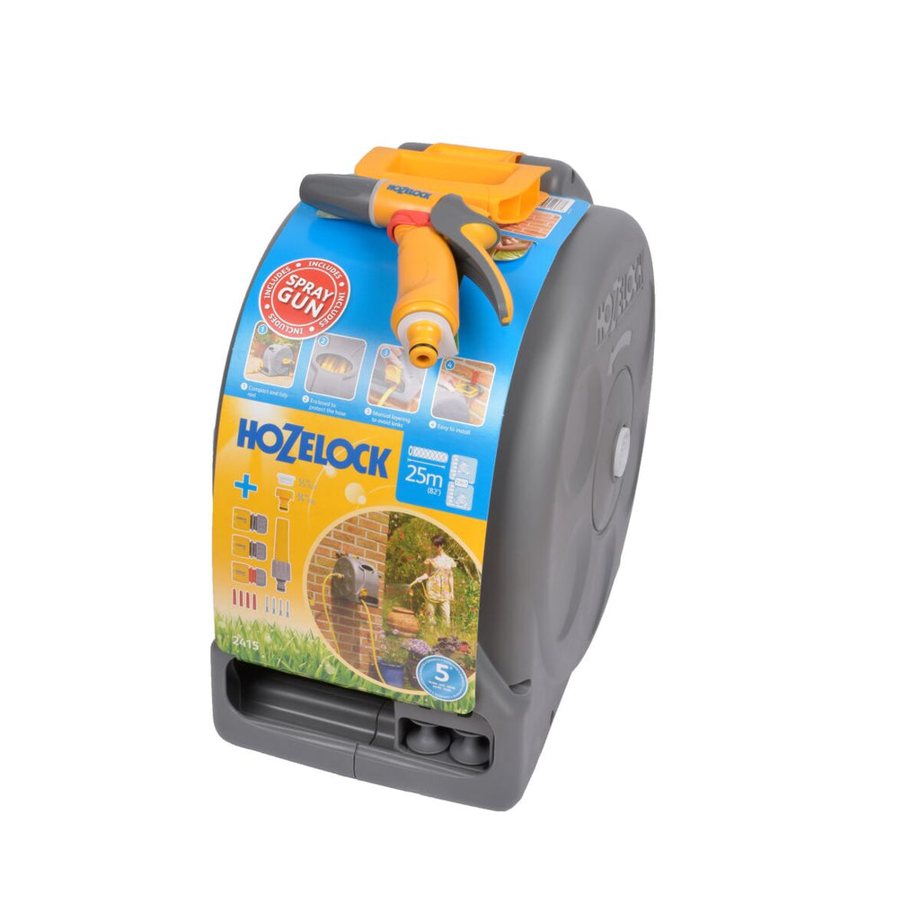 Hozelock 2- in - 1 Hose Reel
