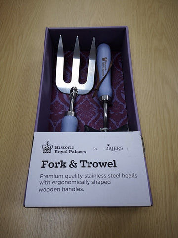 Historical Royal Palaces - Fork & Trowel Set - Royal Crown