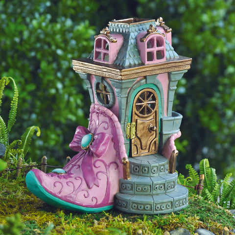 Fiddlehead Fairy Pink Slipper Chateau