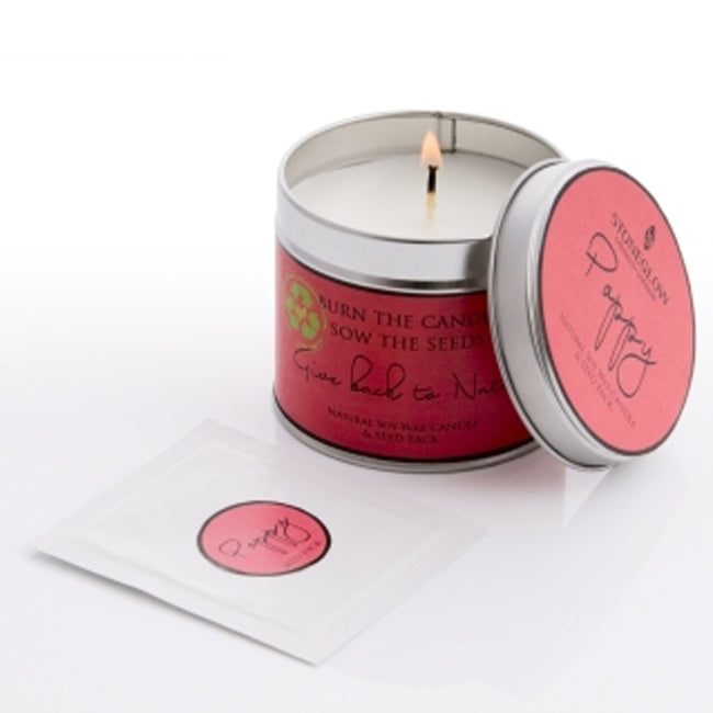Poppy 'Give back to Nature' Stoneglow Candle