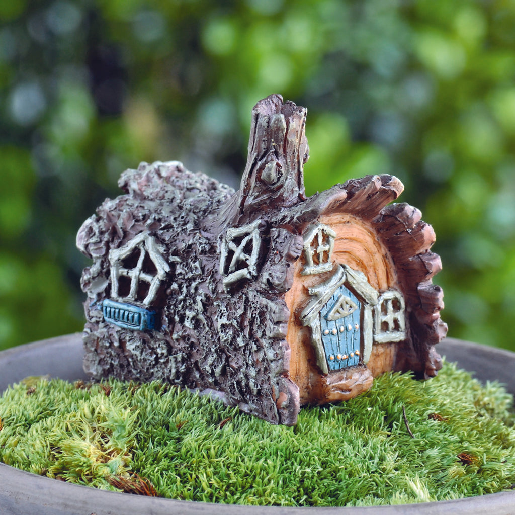 Fiddlehead Fairy Village Log House