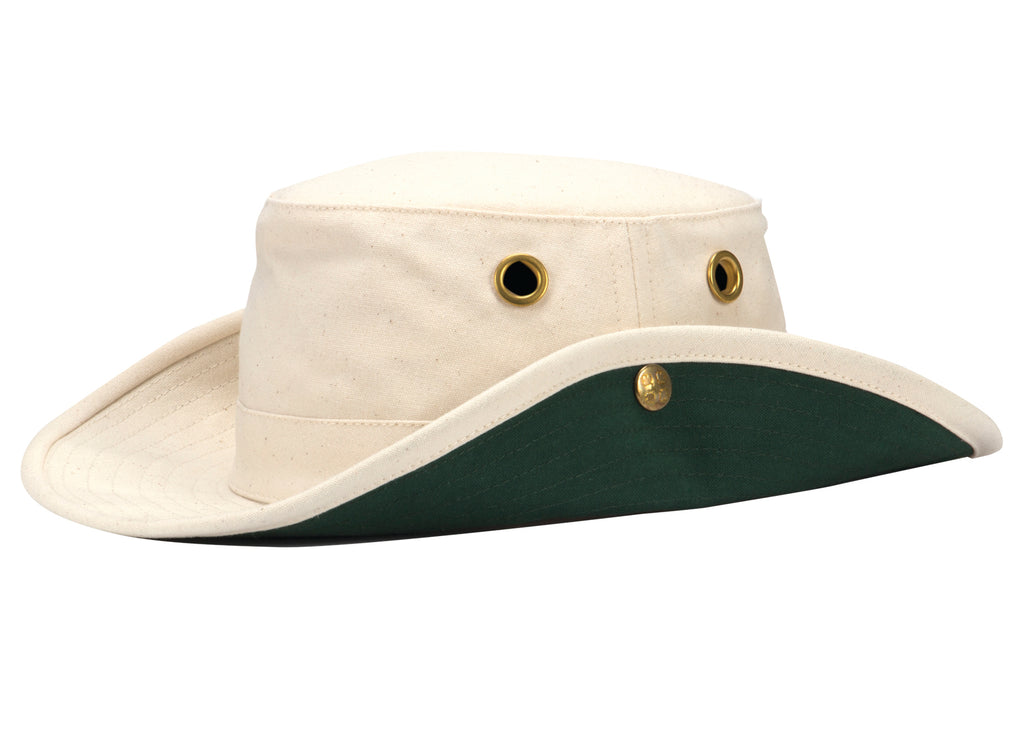 Tilley Natural T3  Cotton Duck Snap up Hat