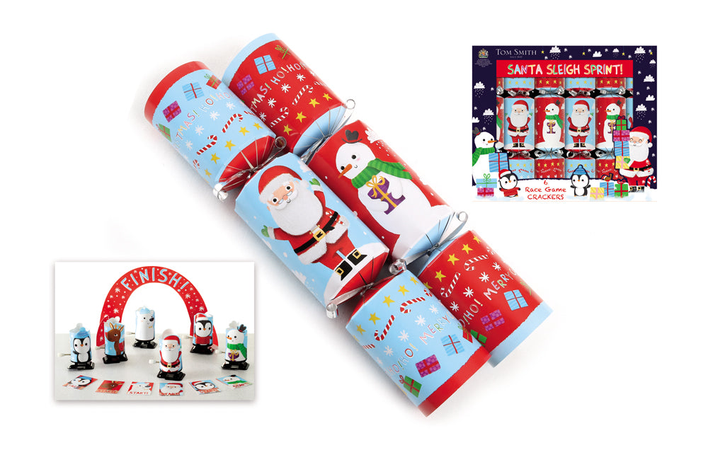 Christmas Crackers Cartoon.Christmas Crackers Santas Sleigh Sprint