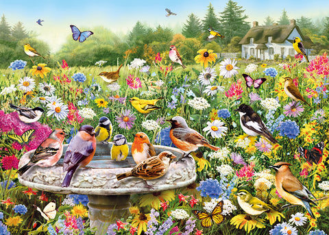 The Secret Garden Jigsaw with extra-large pieces