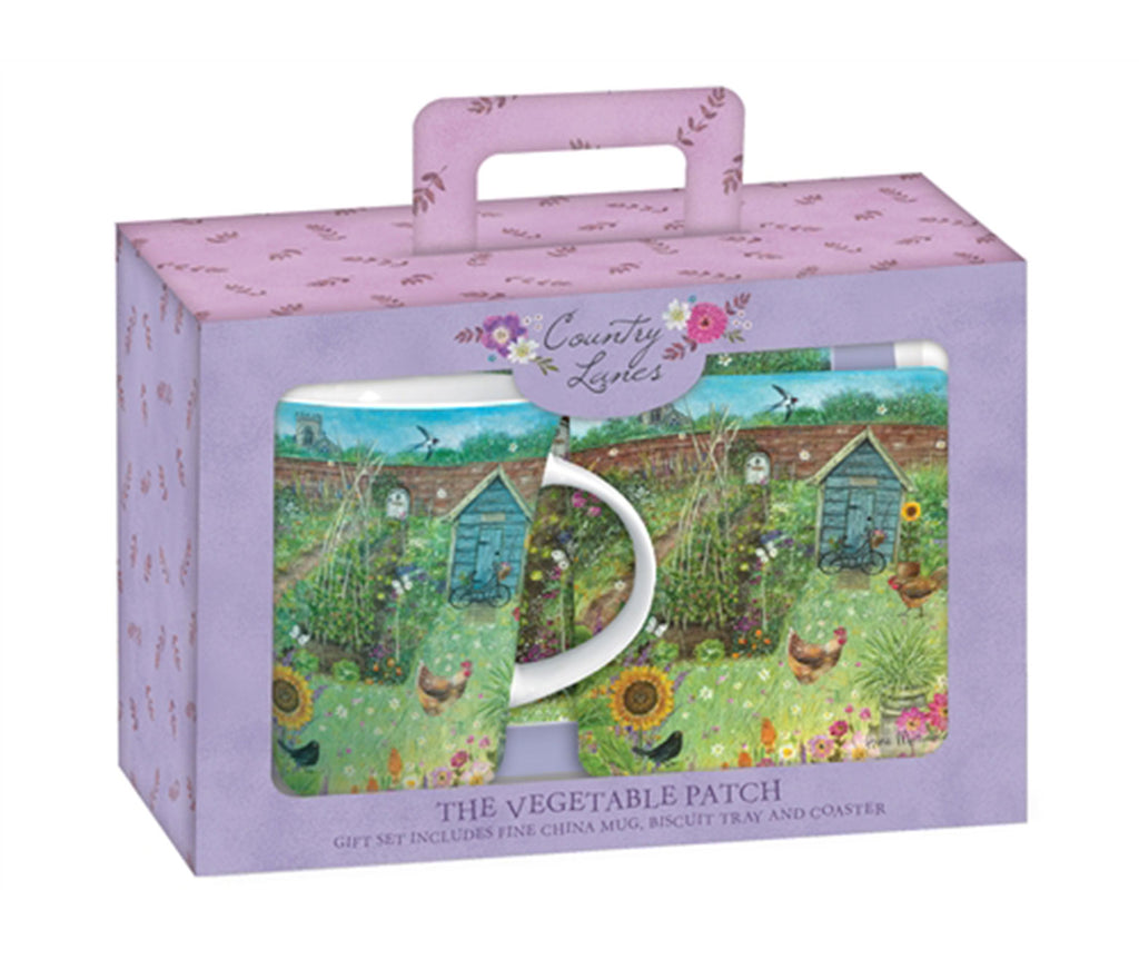 'Vegetable Garden' Tea Time Gift Set