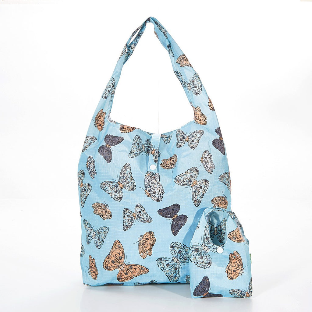 Butterflies Foldable Shopper Bag
