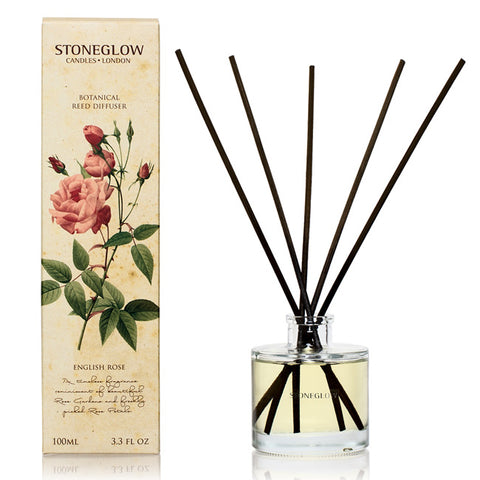 Stoneglow English Rose Reed Diffuser