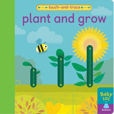 Book - Touch and Trace Plant and Grow by Patricia Hegarty