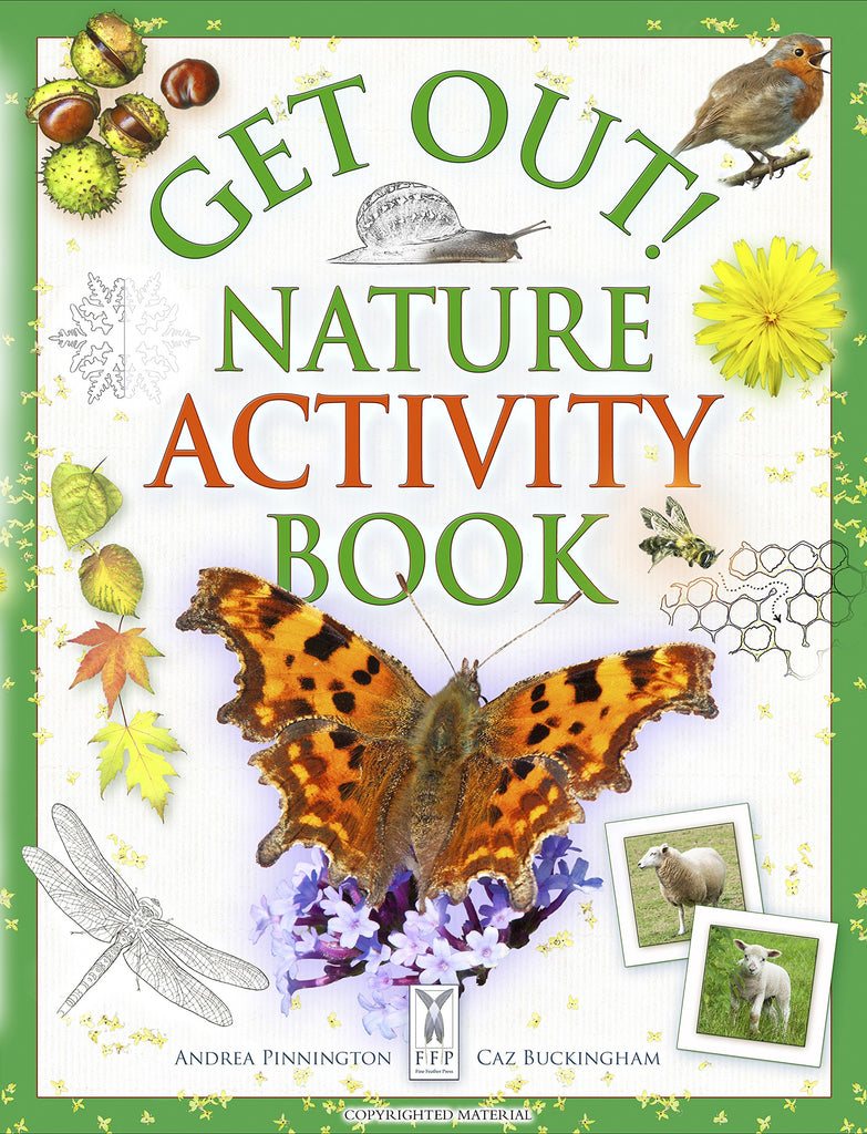 Book - Get Out Nature Activity Book by Andrea Pinnington & Caz Buckingham