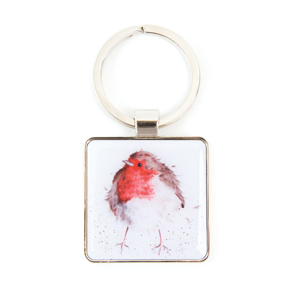 Wrendale 'The Jolly Robin' Keychain
