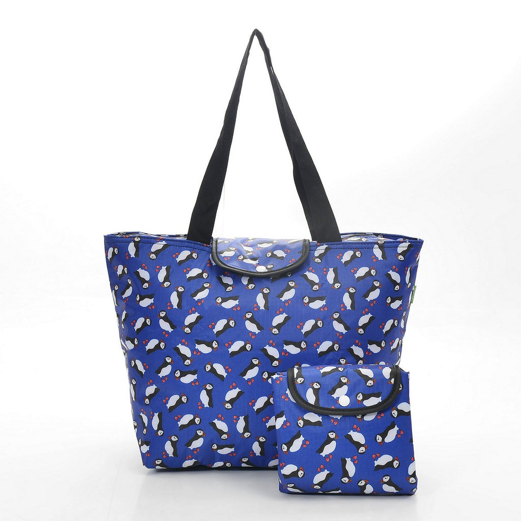 Eco Chic Puffin Foldable Large Cool bag