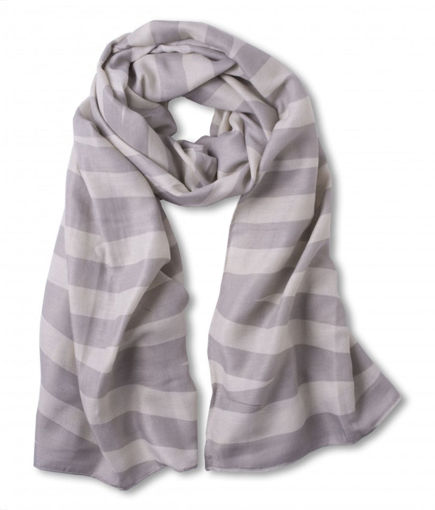 Pale Grey Stripes