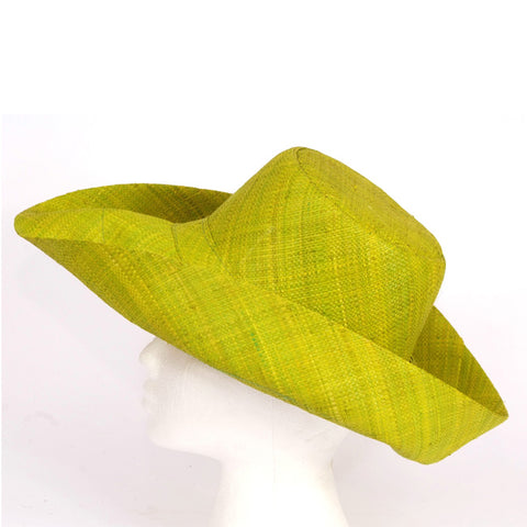 Madaraff Medium brim Lime