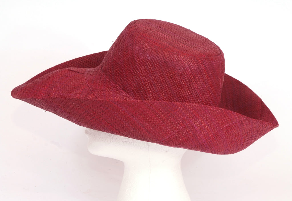 Madaraff Medium brim Plum