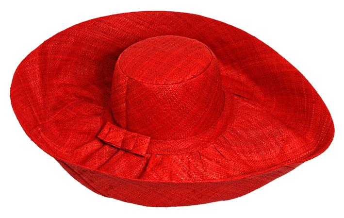 Madaraff - Plain Red Wide Brimmed