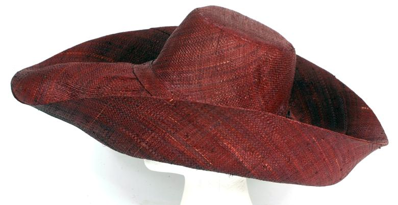 Madaraff - Chestnut Wide Brimmed