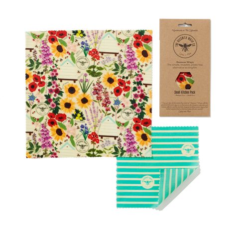 Bees Wax Food Wrap - Small Kitchen Pack Land