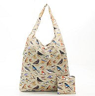 Eco Chic Bird Foldable Shopper