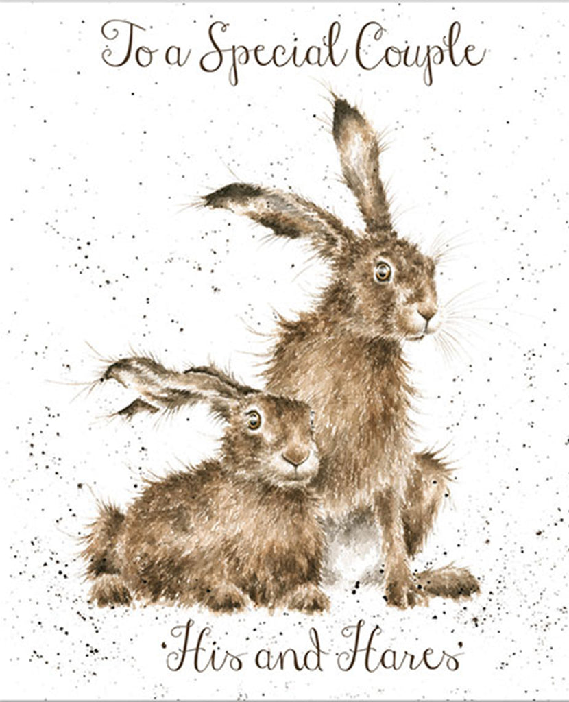 Wrendale Card - His And Hares