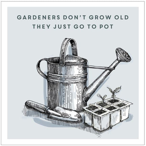 Ling Greeting Card - Gardeners