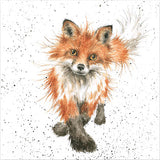 The Fox Trot Greeting Card